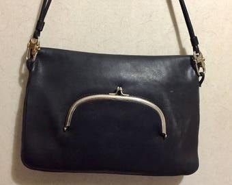 Bonnie Cashin for Meyers shoulder bag vintage and rare 1970s kisslock coach