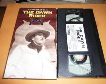 John Wayne VHS TAPE The Dawn Rider