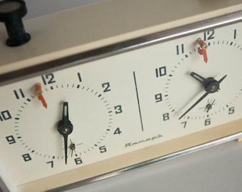 Vintage Soviet Chess Clock