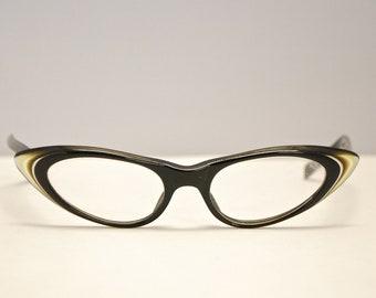 1950's/60's Cateye Optical Frames / France / Rainbow Brand / Retro Collectible Rare #1068