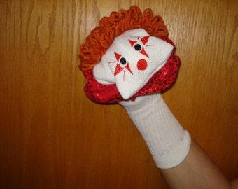 Clown sock puppet sock puppets