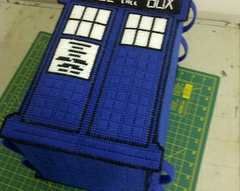TARDIS Sewing Box - Doctor Who - PATTERN ONLY