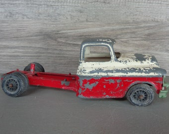 Vintage Metal Hubley Kiddie Toy Truck #494 for Parts Restoration Repurpose