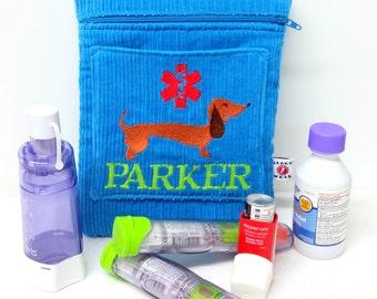 Larger Inhaler Case / Medicine Pack / Epi-Pen Case / Purse by Alert Wear
