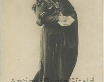 Robert Adelheim Russian Jewish actor as Hamlet antique theater photo pc