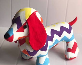 Dixie the Dachshund - Ready To Send. Year of the dog