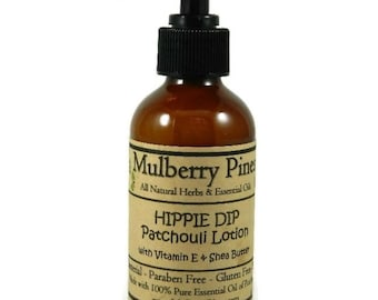 Hippie Dip - Patchouli Lotion - Mulberry Pines