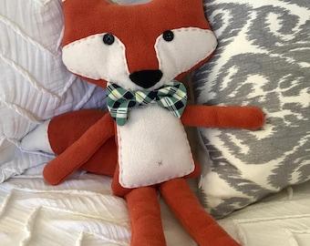 Handmade Fox Stuffed Animal