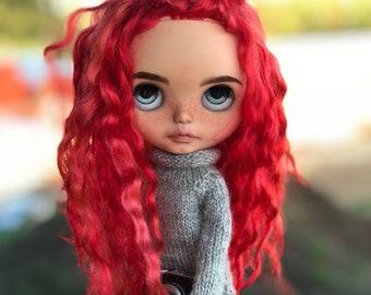 Mika ~ ooak custom Blythe doll Disco Boogie