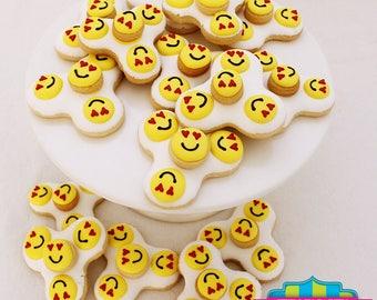 Fidget Spinner Cookies - 1 Dozen