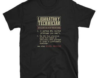 Laboratory Technician Shirt Definition Gift  Tee