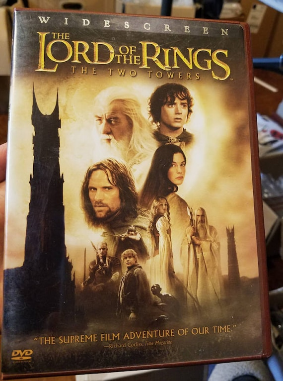 The Lord of the Rings: The Two Towers dvd movie fantasy adventure Elijah Wood