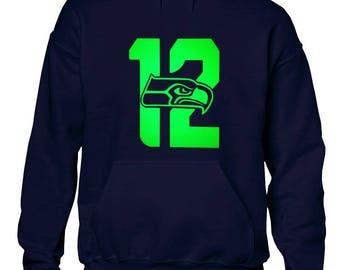 Seattle Football Team 12th Man Hoodie