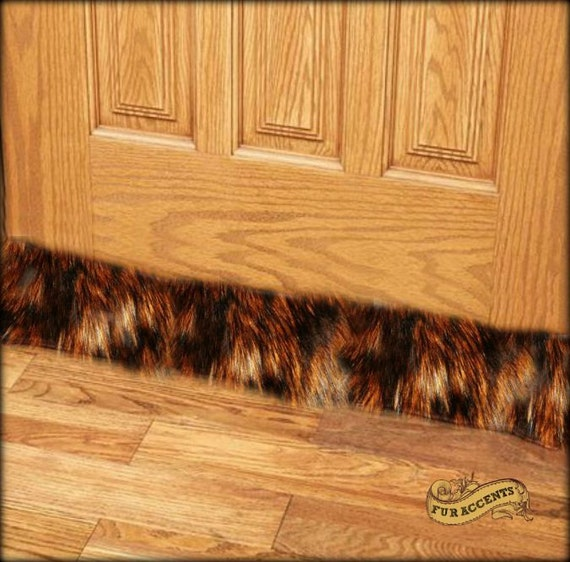 Faux Fur Draft Stopper Door Or Window Snake Old House