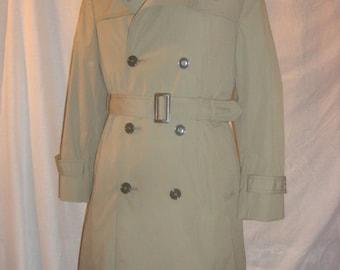 Vintage Officers coat with liner