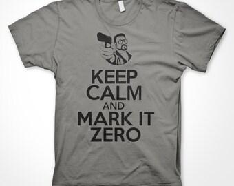Keep Calm with this funny Big Lebowski T Shirt.
