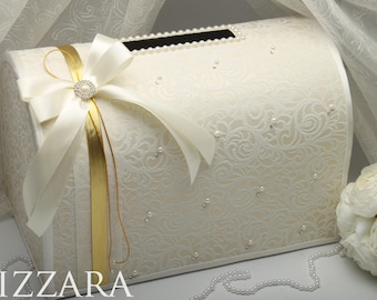 Wedding money box etsy wedding money box ivory wedding card box gift card holder wedding card box wedding accessories vintage wedding ideas decor box card junglespirit Image collections