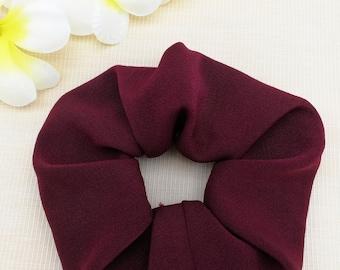 Brick Red Hair Accessories Scrunchies Hair Ties Colorful Hair Ties Hair Colorful Ties Handmade Scrunchies Hair Scrunchies Gift