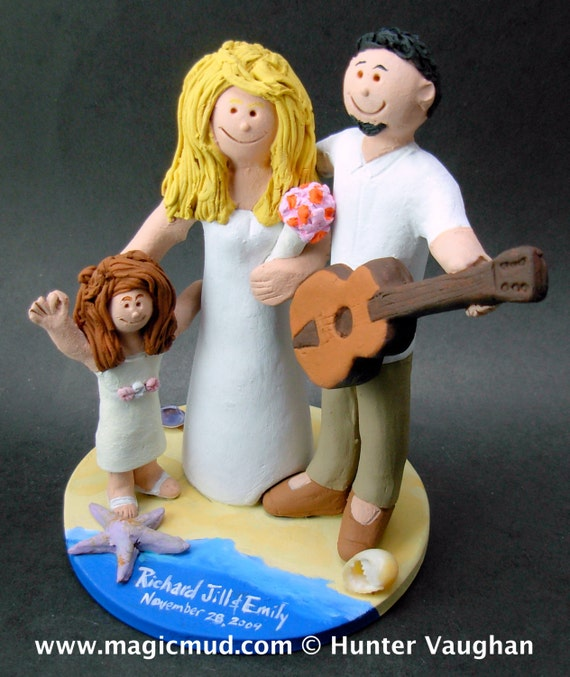 guitar player wedding cake topper acoustic guitarist s wedding cake topper guitar wedding 15015