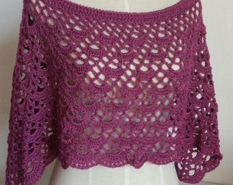 Crochet Poncho, handmade poncho, crochet shawl, hand knitted shawl, yarn poncho, woolen poncho, crochet poncho, knitted poncho, women's poncho
