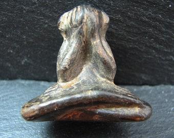Free International Shipping.  A Phra Pidta amulet - Thailand - circa 1950's