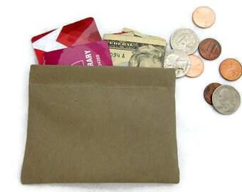 Mini Wallet, Snap Purse, Charger Cord Bag, Headphone/Ear bud Pouch, Mini Snap Bag, Coin Purse, Credit Card Holder, Snap Coin Purse