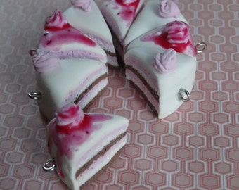 Strawberry Cake Charm