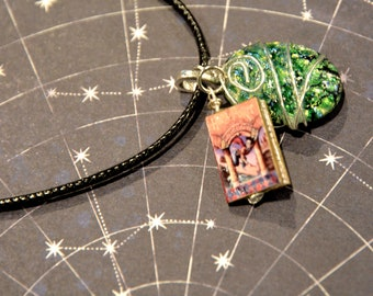 Harry Potter inspired Sorcerer's Stone necklace