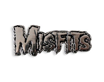 Officially Licensed Misfits Logo Enamel Pin