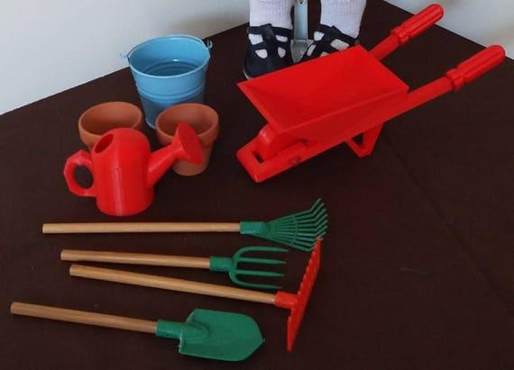 Zisa gardening set, for 18 inch dolls