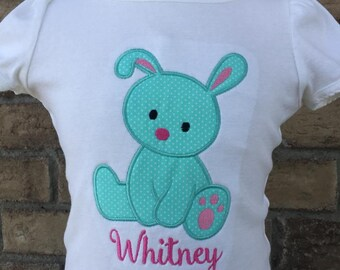 Personalized Easter Bunny Cutie Shirt