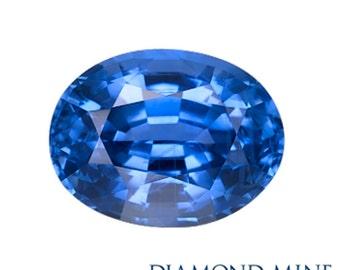 1.06 Carat Blue Sapphire, Oval cut Sapphire, Loose Sapphire Gemstone, Blue Gemstone, Non Heated Real Sapphire