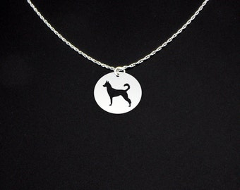 Jindo Dog Necklace - Jindo Necklace - Jindo Jewelry - Jindo Gift