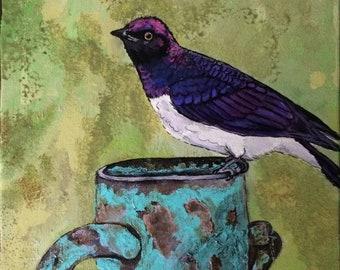 Starlings and tea