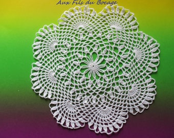 Doily dream catcher for white 20 cm N29