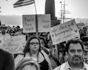 DACA, Immigrant Rights Rally
