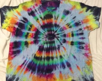 Bullseye Rainbow Tie-Dye Size S, L, XL, 3XL