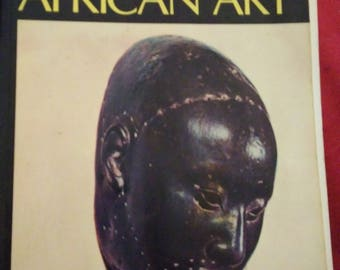 African Art paperback book by Frank Willett