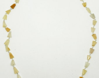 "24"" citrine necklace"