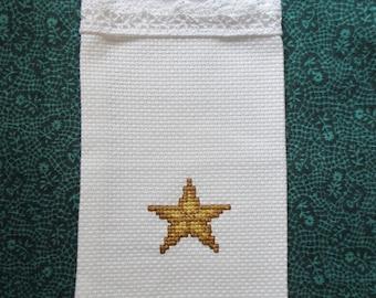 Gift or Sachet Bag  Gold Star