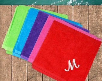 Embroidered Initial or Name Towel  -gfyE339831X