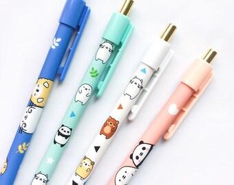 Tiny Love Mechanical Pencils, Long and Thin, Cute Kawaii, Animals, School Supplies, Stationary Journal Writing