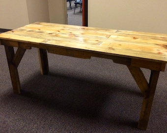 pallet wood dinning table