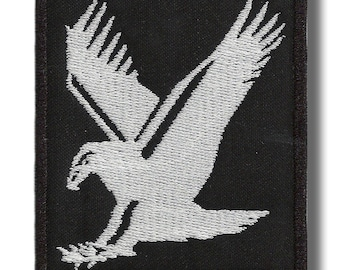 Eagle - embroidered patch 7x8 cm