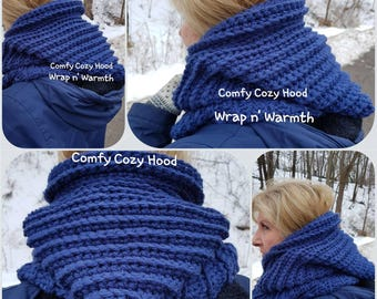 Comfy Cozy Hood in adult size