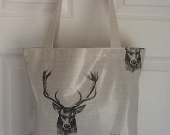 Oilcloth tote bag / shopper