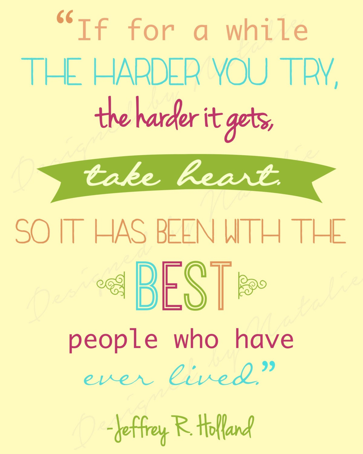 Lds Missionary Quotes Inspirational Missionary Quote While Harder You Try Take Heart