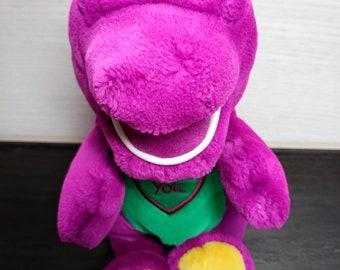 Barney Purple Dinosaur Collectable