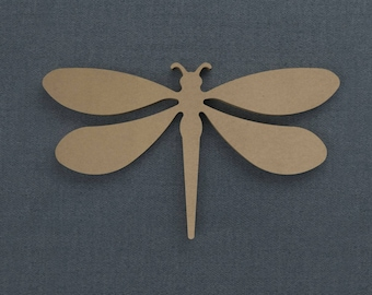 Dragonfly, Wood Cutout, DIY Unfinished Sign