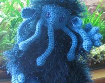 Cthulhu /  Cthulhu monster / mythological character / knited toys / knited monster /  toy monster / the lord of the worlds/ amigurumi toys/